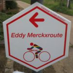 eddy merck route bordje